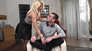 Super seductive together with extremely horny order about blondie Tiffany Rousso loves have a passion