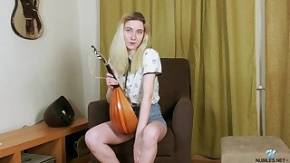 Homemade video be required of adorable Tomnat pleasuring her cravings. HD